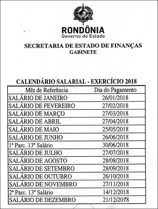 Governo fecha o ano com pagamento dos servidores em dia e lança calendário salarial 2018