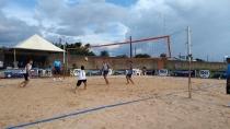 Anfitriões do Joer perdem uma e vencem outra partida de vôlei de praia em Vilhena