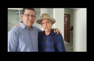 Mudou de novo: Jaime Bagattoli diz ter acreditado em fake news e faz as pazes com Marcos Rocha